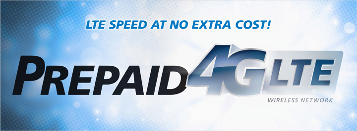 Prepaid 4G LTE: LTE Speed at no extra cost!