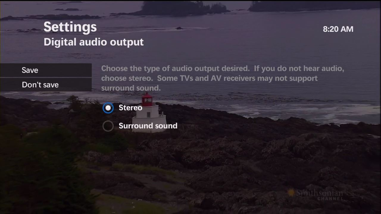 Connecting A Surround Sound System Or Soundbar On Maxtv Wiring Diagram Digital Audio Output Stereo