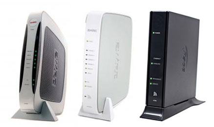 how to create two network on bell modem