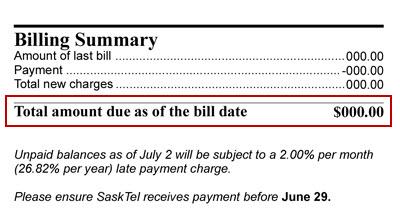 Helt nya Finding your last billed amount UX-78