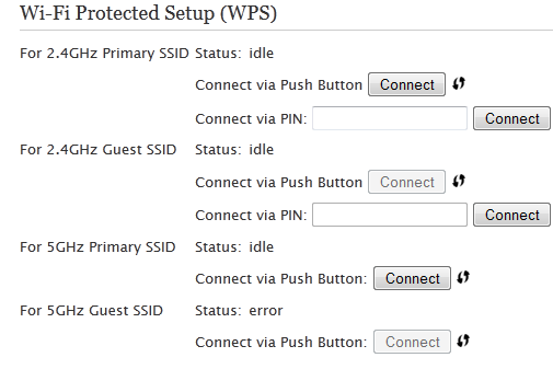 Setting up In-home Wi-Fi on your Pace 5268 gateway