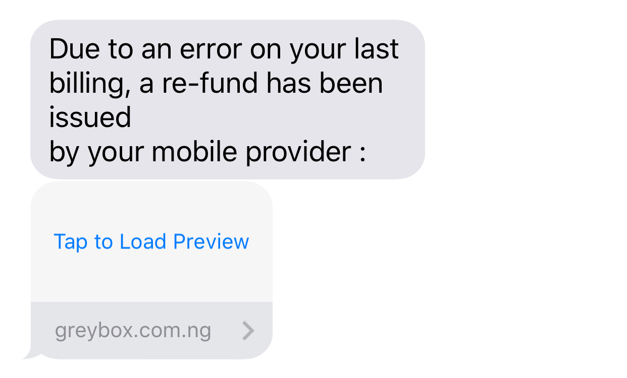 Beware of e-transfer scams by text message or email