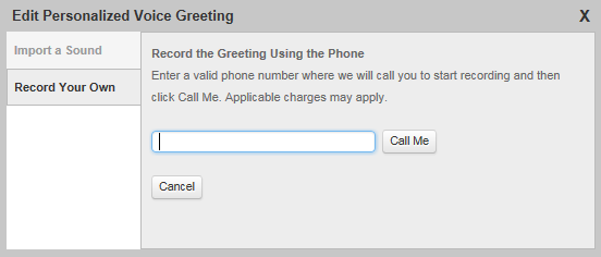 Changing your personal voice mail greeting online voice mail personal greeting record your own m4hsunfo