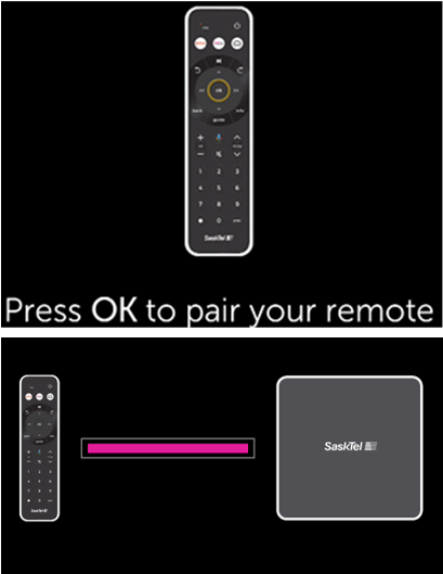Connecting and pairing your maxTV Stream media box