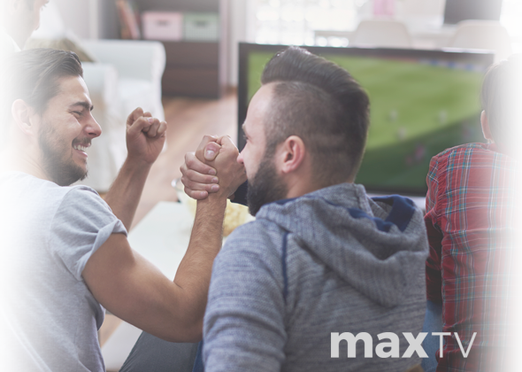 Love sports? Get it all with maxTV
