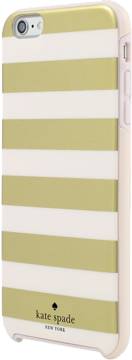 Kate Spade Gold Stripes Case - iPhone 6s Plus