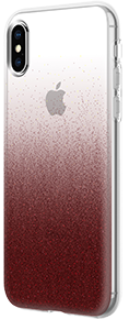 Incipio Design Cranberry Sparkler Case - iPhone Xs Max