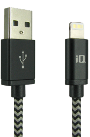 Apple IQ 1.8M Braided Lightning Cable