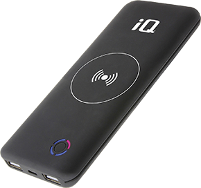 iQ Blade Qi Wireless Charging Power Bank