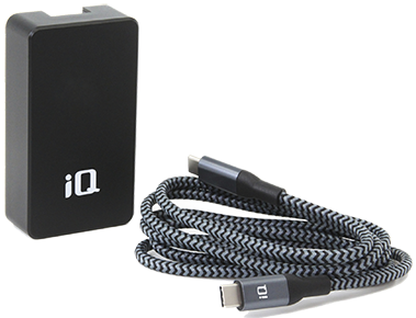 iQ 20 Watt Fast Charge Dual Wall Charger Bundle - Android
