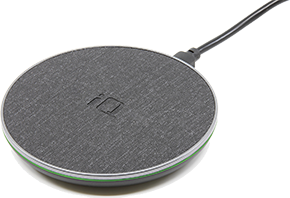 iQ Fast Wireless Charging Pad - Fabric