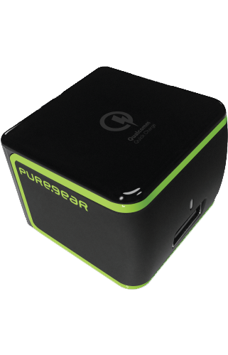 Qualcomm Puregear Quick Charge travel charger