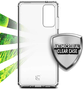 Fremont Antimicrobial Clear Case - Samsung Galaxy S20 FE 5G