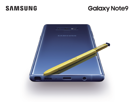 Trade and save $200 on the Samsung Galaxy Note9