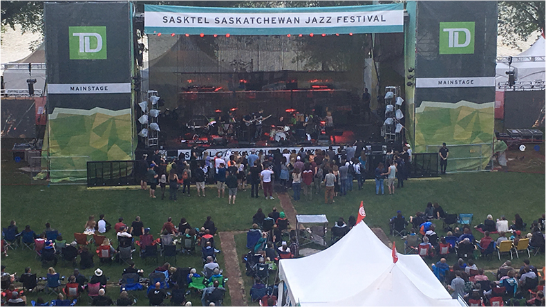 sasktel jazz fest photo