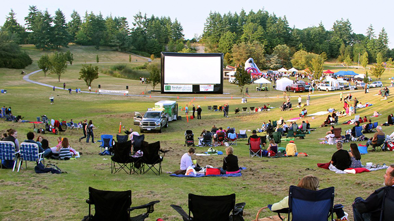 Watch a free outdoor movie in SK this summer